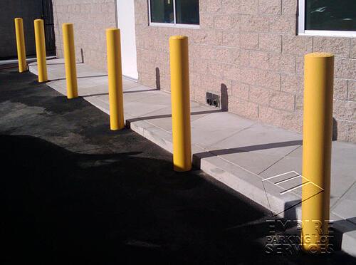 Santa Ana Steel Bollard Installation (1)