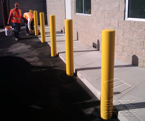 Santa Ana Steel Bollard Installation (4) resized 600
