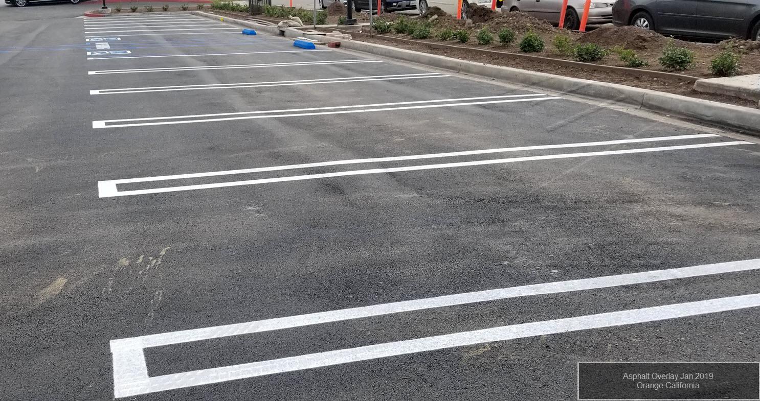 Asphalt Overlay Project Orange County California-1