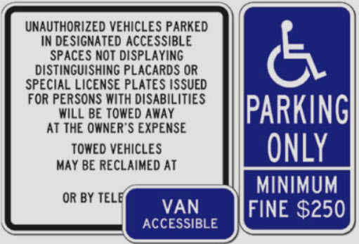 California ADA Signs