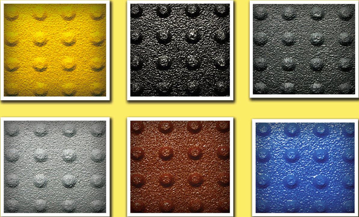 Truncated dome mat color choices