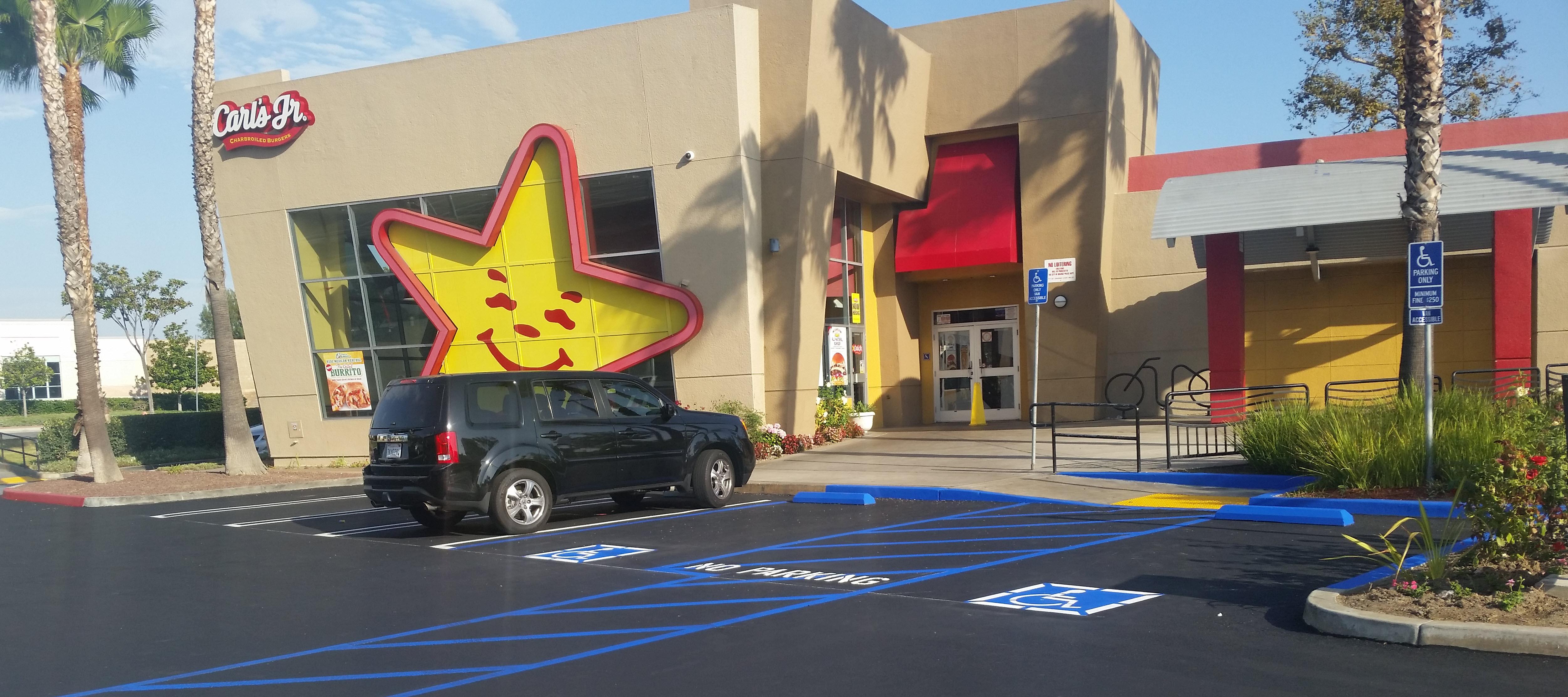 fast food carls jr orange ca.