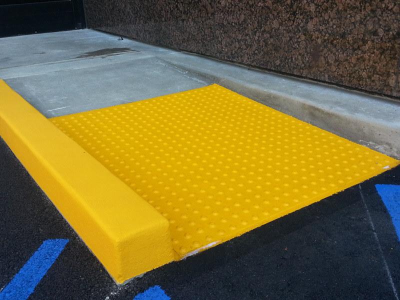 Handicapped Ramp Construction