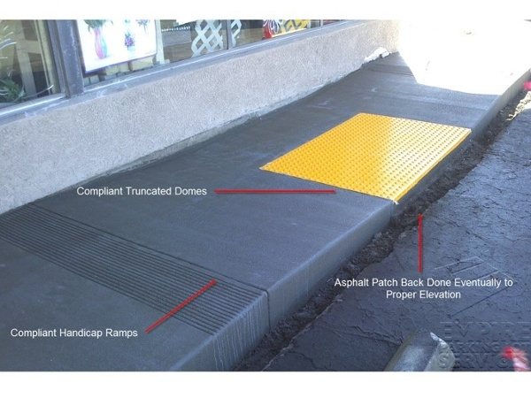 ADA Compliant Handicap Ramp