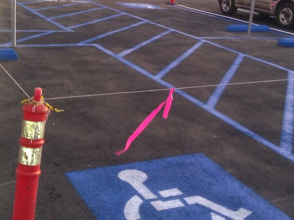 ADA Handicap Striping Services