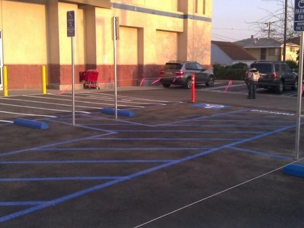 ADA Handicap Striping