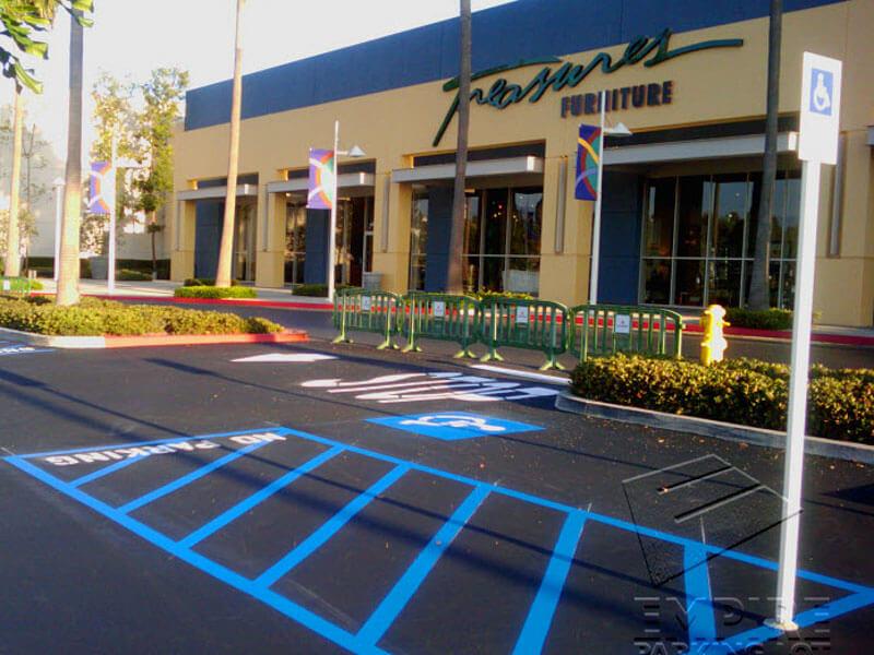 Handicap Striping Services