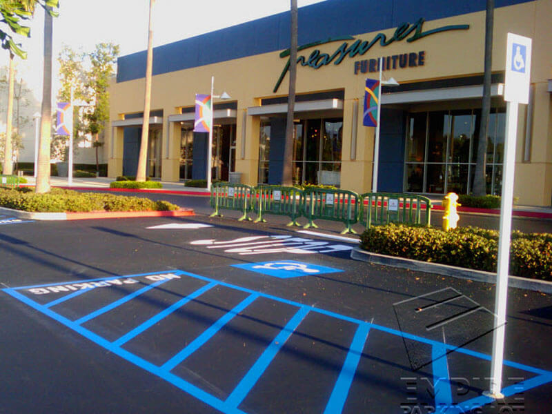 Handicap Striping Services