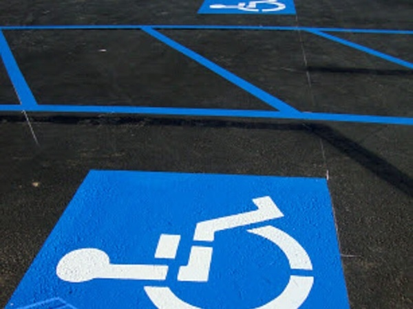 Striping Services for Handicap Parking Spots