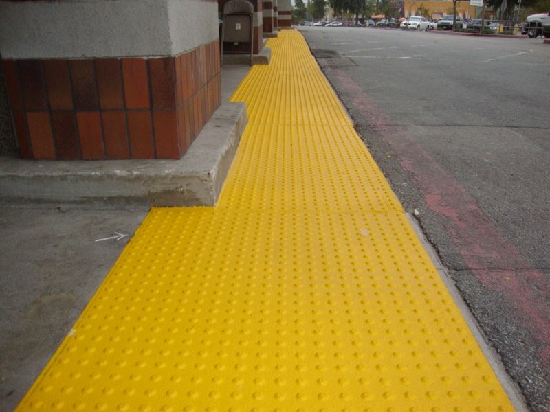 Truncated Dome Amp Detectable Warnings Installation