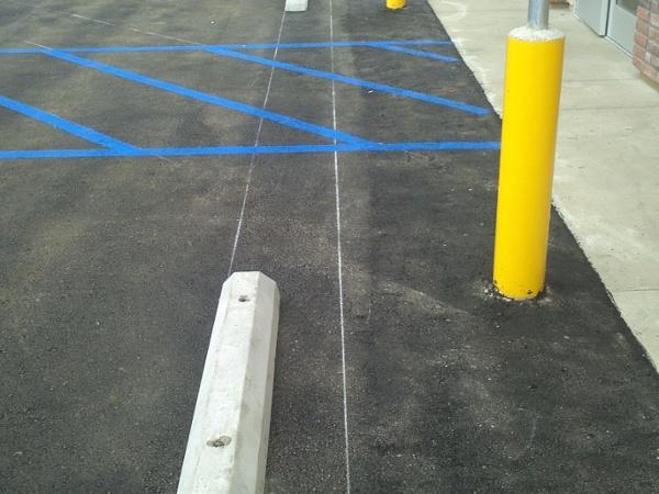 ADA Upgrades Parking Lot