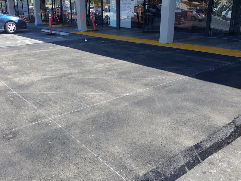 ADA Handicap Parking Lot Updates