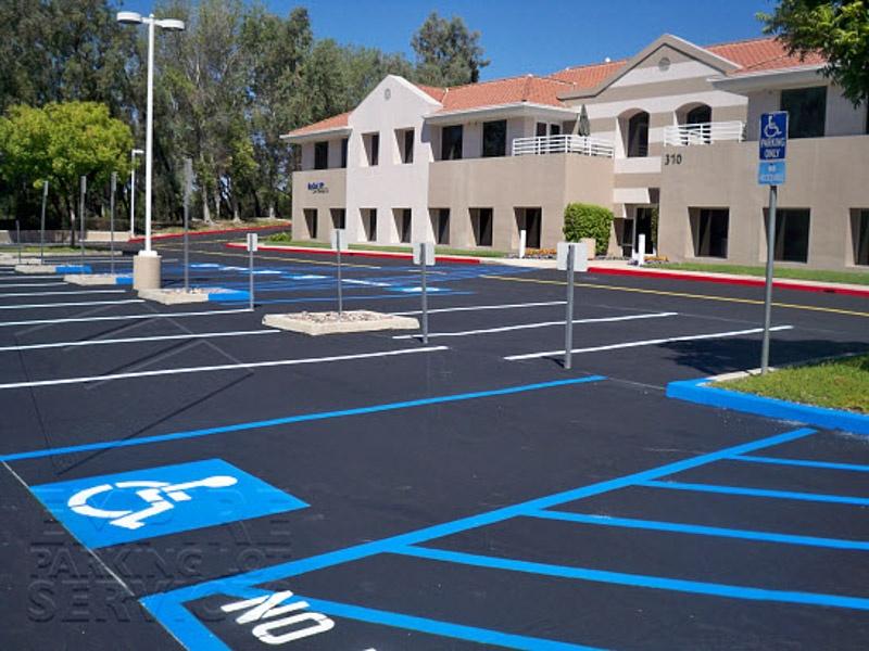 Handicap Spot Compliance