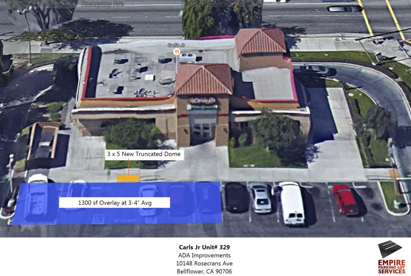 ADA Handicap Parking Lot Upgrades