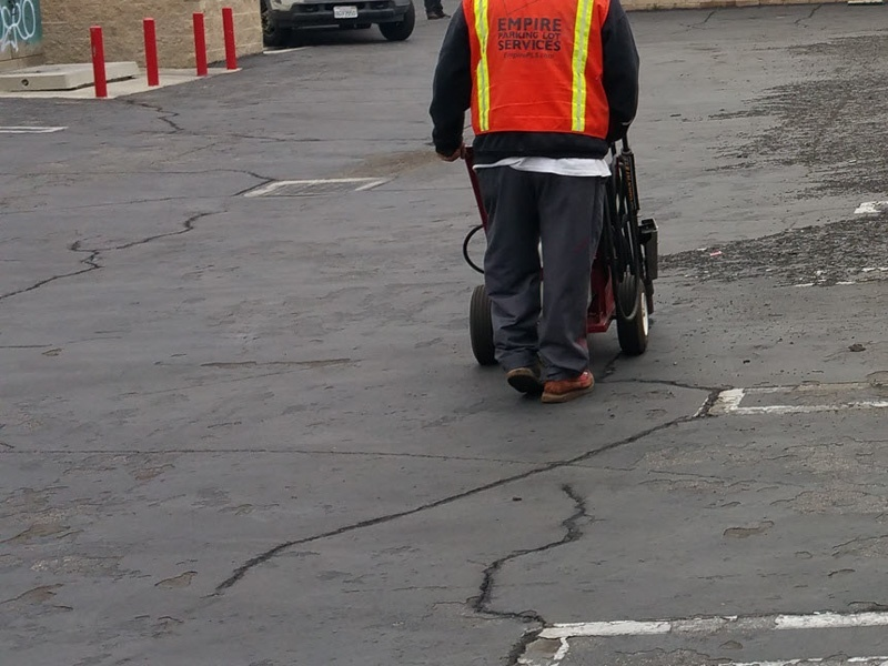 Asphalt Crack Sealing & Repair