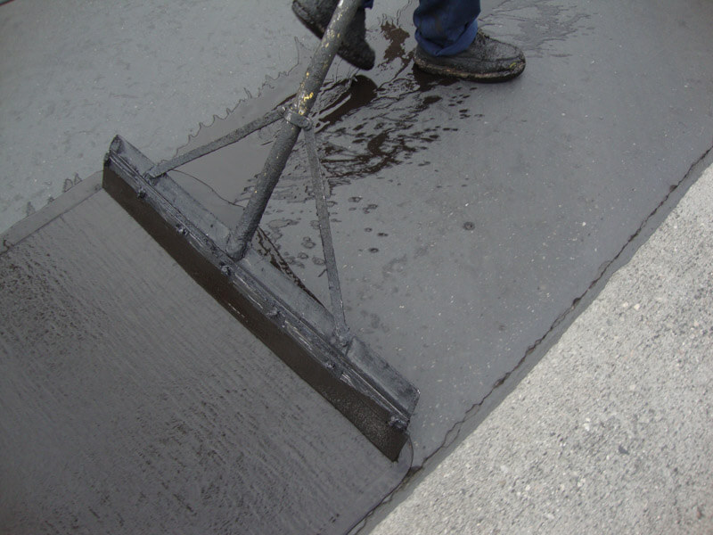 Asphalt Parking Lot Seal Coating