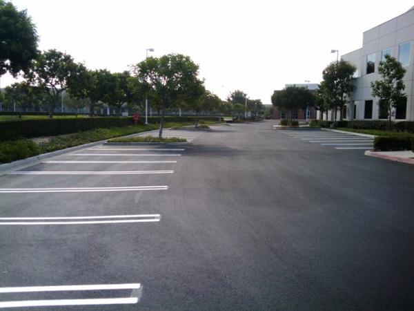 Asphalt Parking Lot Seal Coating