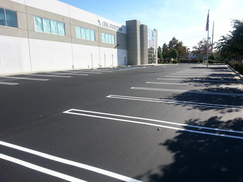 Parking Lot Maintenance: Asphalt Parking Lot Seal Coating