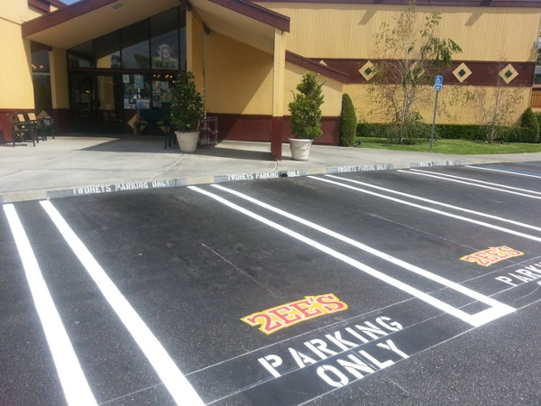 Southern California Parking Lot Striping Services