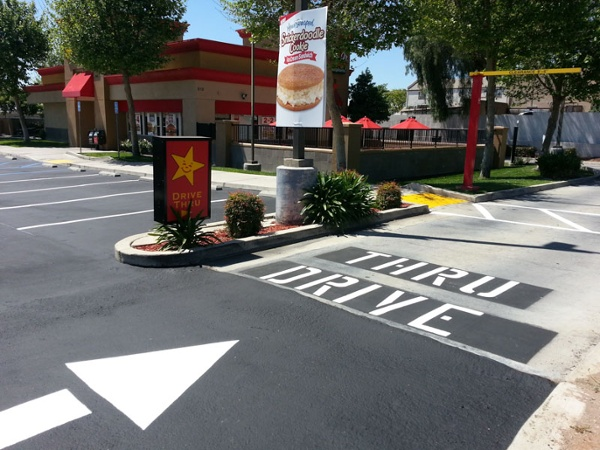 California Parking Lot Striping Services