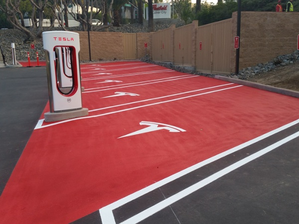 Custom Parking Lot Striping