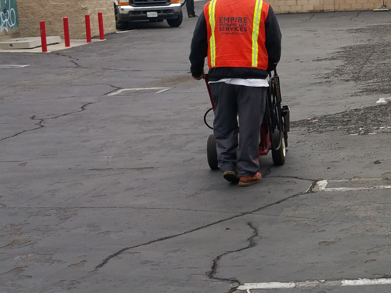 Custom Parking Lot Maintenance Services