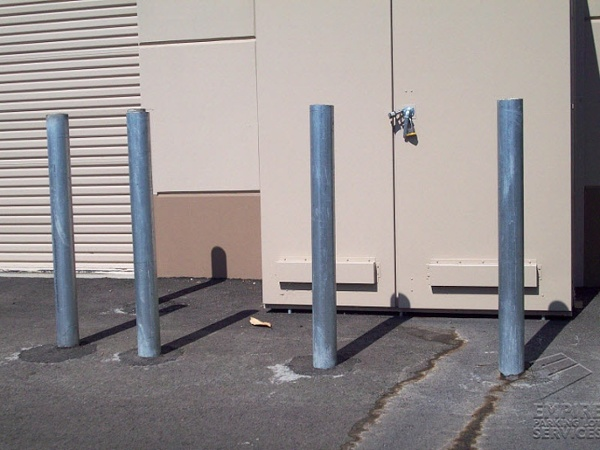 Steel Bollard Installation