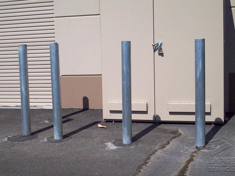 Steel Bollard Installation
