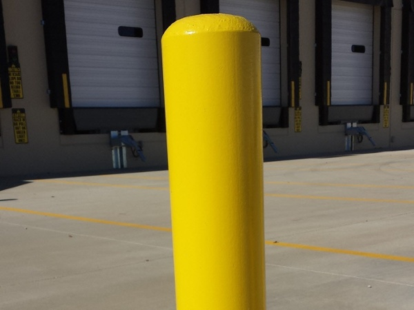 Warehouse Delivery Bollards