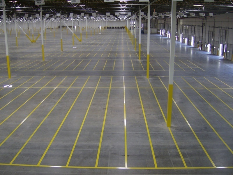 Warehouse Floor Striping