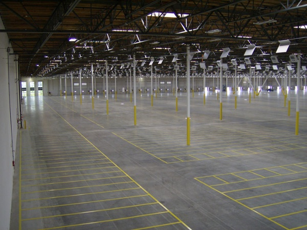 Warehouse Floor Striping Services