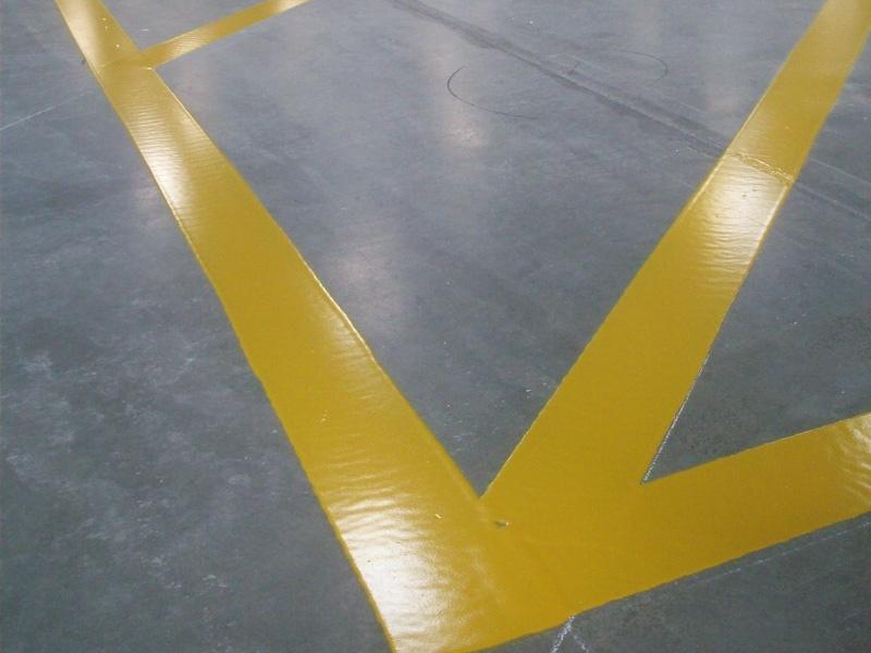 Warehouse Floor Painting
