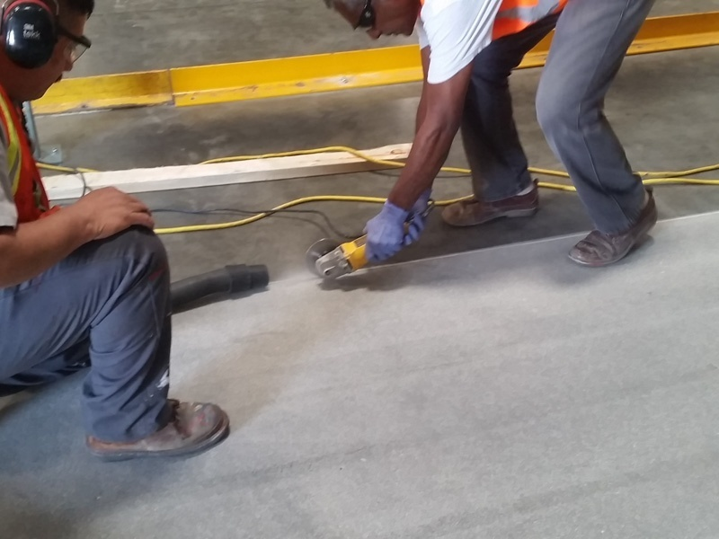 Warehouse Concrete Cleaning Services